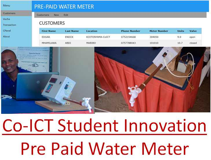 CoICT-Pre Paid Water Meter